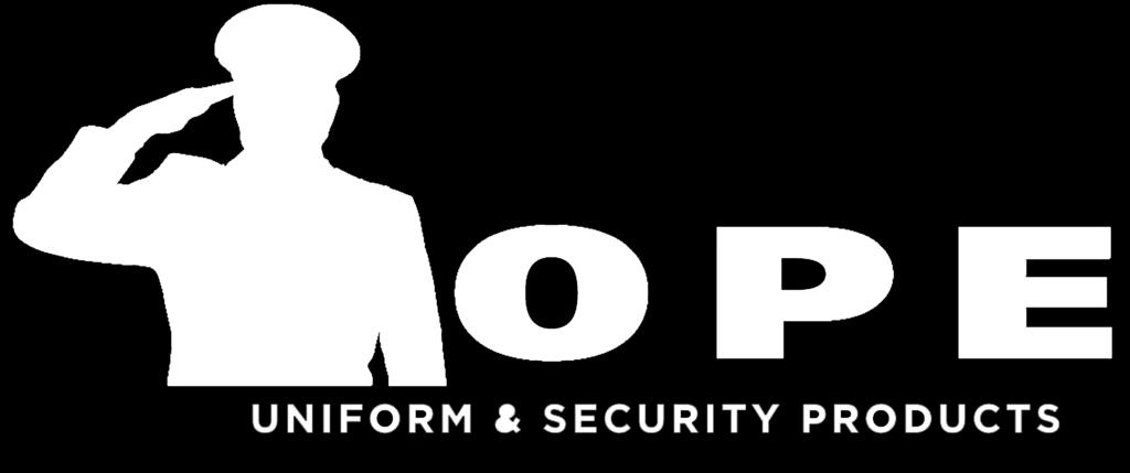 All orders are subject to the approval of Hope Uniform and Security Products and are not binding until accepted by Hope Uniform and Security Products.