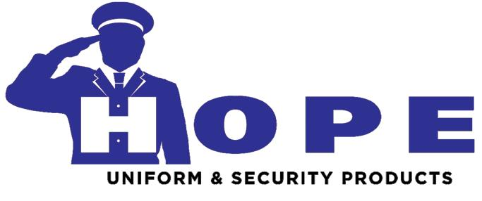 Hope Uniform and Security Products shall not be liable for inability to ship any order(s) due to material or parts shortages. POLICIES UNIFORMS Custom uniforms may not be returned.