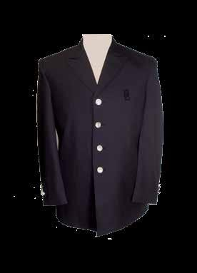 STOCK JACKETS STYLE# 100 STYLE# 200 Material Options: 75/25% Dacron/Wool Dark Navy