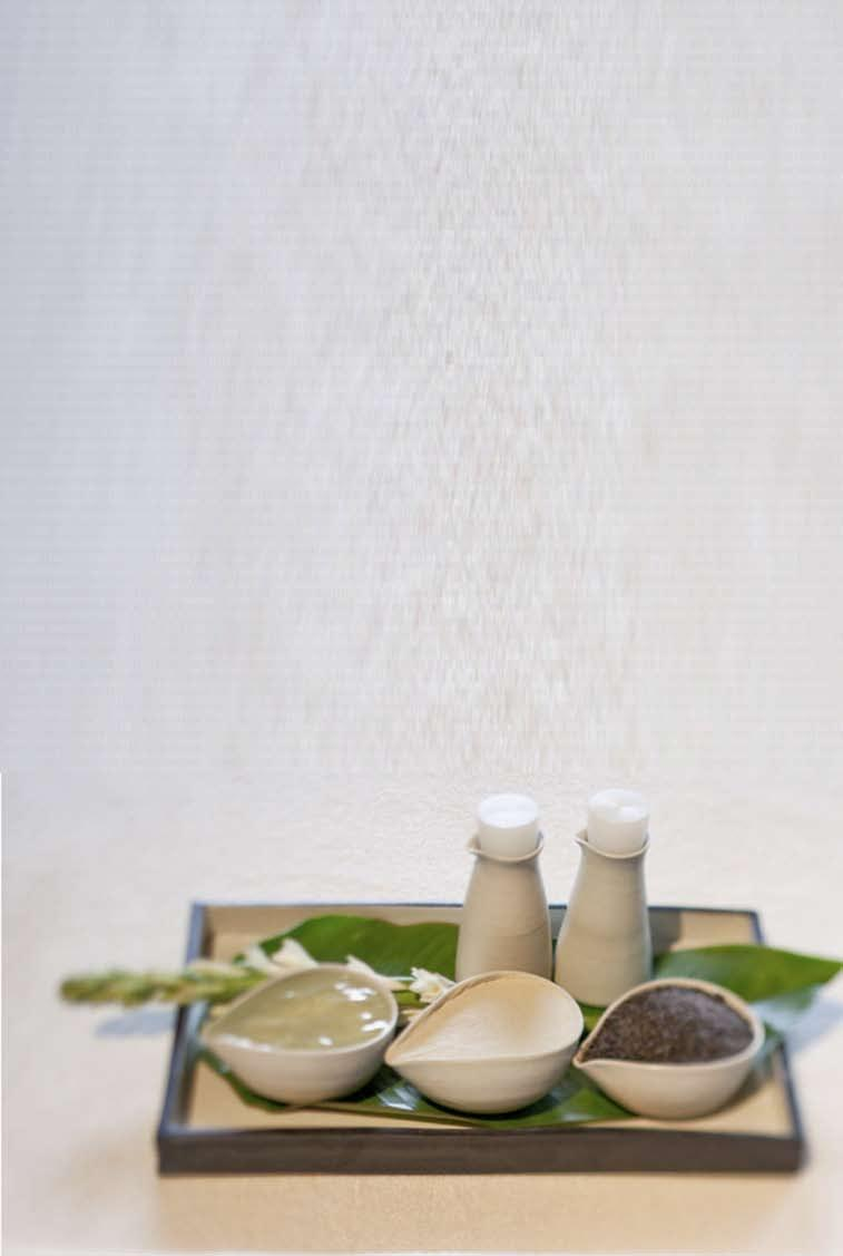 SALA SPA PACKAGE THE CHOICE IS YOURS (2 HOURS) Combine your choice of Body Scrub with Massage and take a little time out for you.