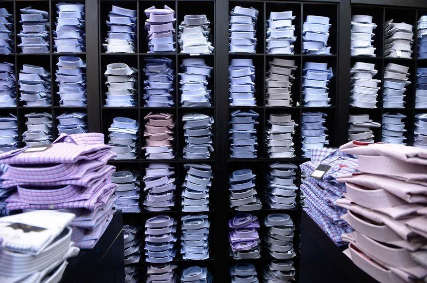 Dress Shirts For Every Occasion The Wall Of Dress Shirts at Tom s Place Our selection of dress shirts is second to none!