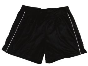 Dri-power moisture management fabric Open bottom - hemmed Team athletic cut elastic