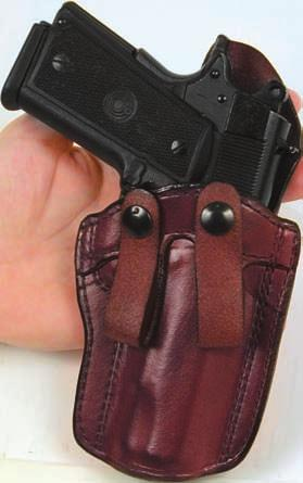 CONCEALMENT HOLSTERS 19 PCCH PREFERRED CONCEALMENT CARRY HOLSTER This fine holster is to be carried inside the waistband strong