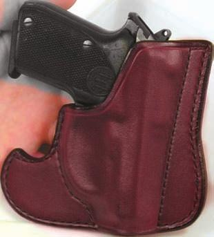 "Also features a body shield to provide comfort between the weapon and the user. Fits belts up to 1 3/4""."