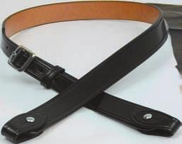 28 DUTY / TROUSER BELTS B101 The belt is made from the finest top-grain leather available. By laminating two pieces of 6/7 oz.