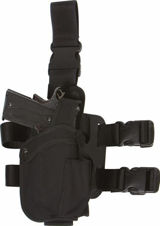 BALLISTIC NYLON 35 NHMP HOLSTER WITH MAGAZINE POUCH Please specify the weapon, right or left hand.