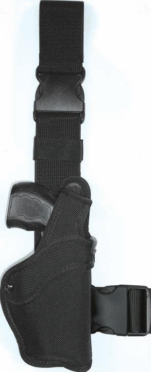 36 BALLISTIC NYLON NTH TASER HOLSTER WITH QUICK RELEASE BUCKLE.