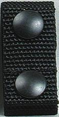 Lined with Velcro hook, designed to use with full Velcro lined duty belts.