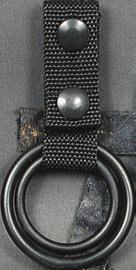 Rigid construction for durability and holster support. Easy release buckle.