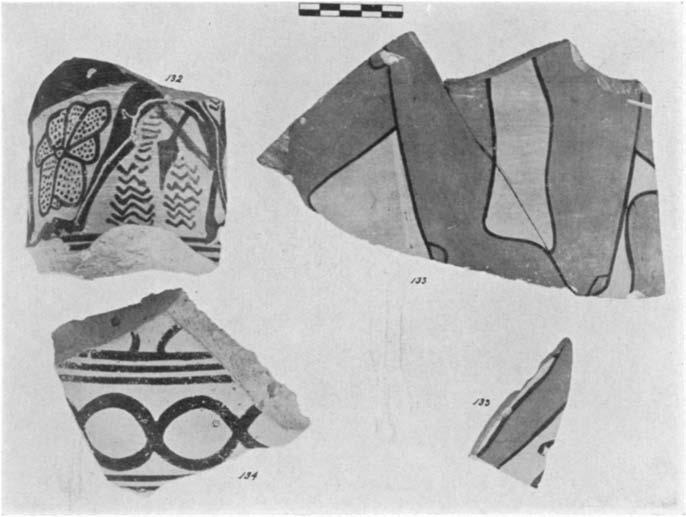 A GEOMETRIC HOUSE AND A PROTO-ATTIC VOTIVE DEPOSIT 573 a color that had a soft purple surface when first excavated but that disappeared when the sherds were placed in water, leaving a dull reddish