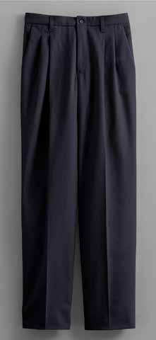 Blue D. The Comfort Pant Double-pleat styling.