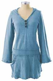 It has a decorative faux button placket, decorative seaming, and