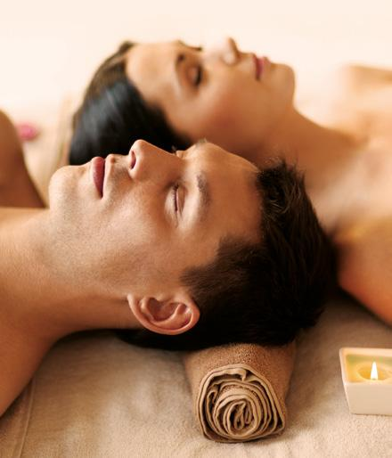 Couples Harmony the senses Massage Sharing wellness with a side by side relaxing Coconut massage for 2.