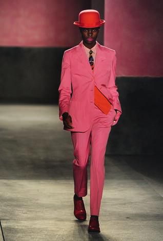 14 Left: Paul Smith, Spring/Summer 2010 collection Right: Sapeur Willy Covary It s those designers who collaborate with African artisans in order to harness authentic materials and techniques, and