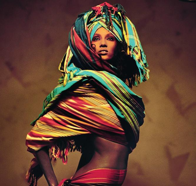 IT S A JUNGLE IN HERE The rise of African fashion is inextricably linked to its models and muses.