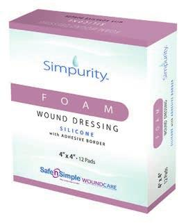 These dressings help maintain a moist wound healing environment with no irritation upon removal, minimizes trauma to the wound and reduces pain during dressing changes.