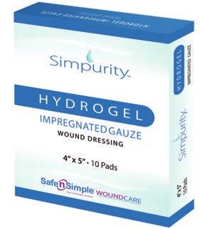 Individually packaged, sterile and latex free. For use on light-to-moderately exuding wounds.