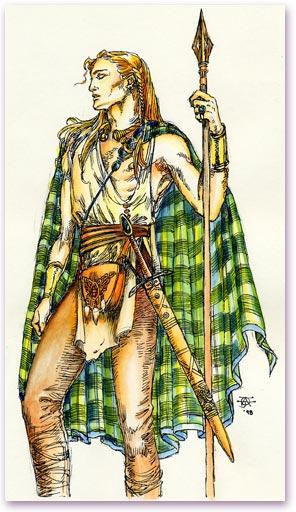 A Tuath and its rí Celts lived together in large groups called a tuath. Every tuath was led by its rí (king). The rí ruled in peacetime and led his warriors into battle.