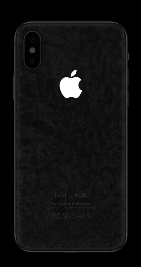 4 iphone X 256Gb Graphite relict wood