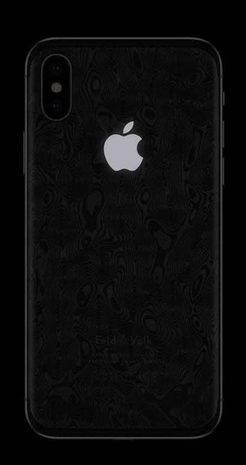 9 iphone X 256Gb Damascus Carbon multilayer
