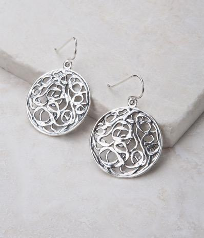 Earrings, 1 3/4 length