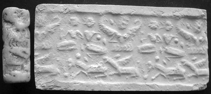 a new south-eastern iranian glyptic evidence 15 Fig. 4: South-eastern Iranian cylinder seal from Jalalabad (NMI 2699) 3.