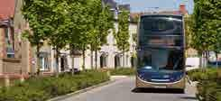 TRAVEL BY BUS Kingsmere is served by two local bus services providing residents with direct access to Bicester and Oxford city centre. The no.