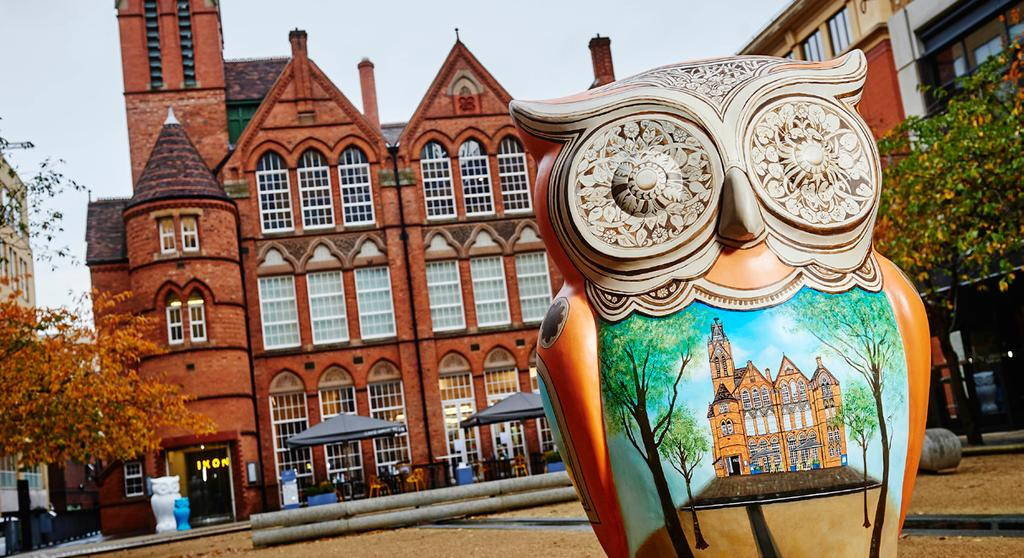 NEWS JQBID backs The Big Hoot The Jewellery Quarter Business Improvement District (JQBID) is to sponsor two owl sculptures when The Big Hoot swoops into Birmingham this summer.