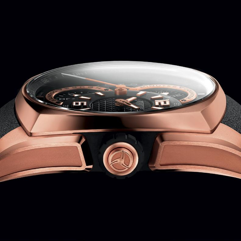 KLEPCYS CHRONOGRAPH FULL ROSE GOLD 539.