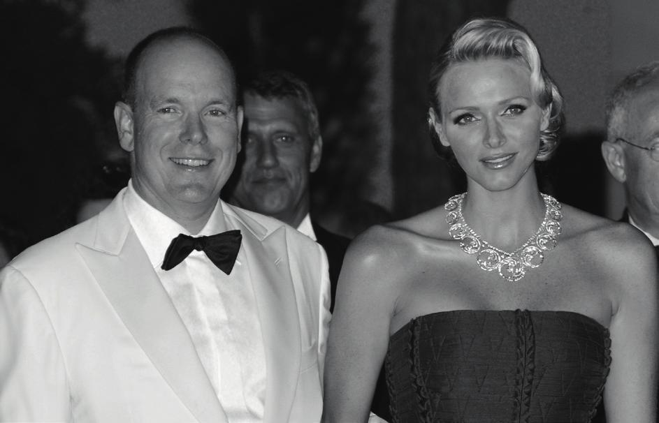 Their Serene Highnesses the Prince and Princess of Monaco