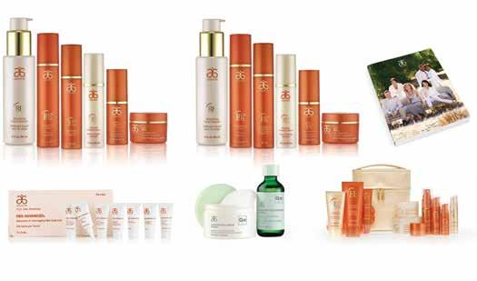 ANTI-AGEING FACE RE9 Advanced Set Regular (1) RE9 Advanced Set Extra Moisture (1) Arbonne Intelligence Genius Nightly Resurfacing Pads & Solution (2) RE9 Advanced Face Sample Pack