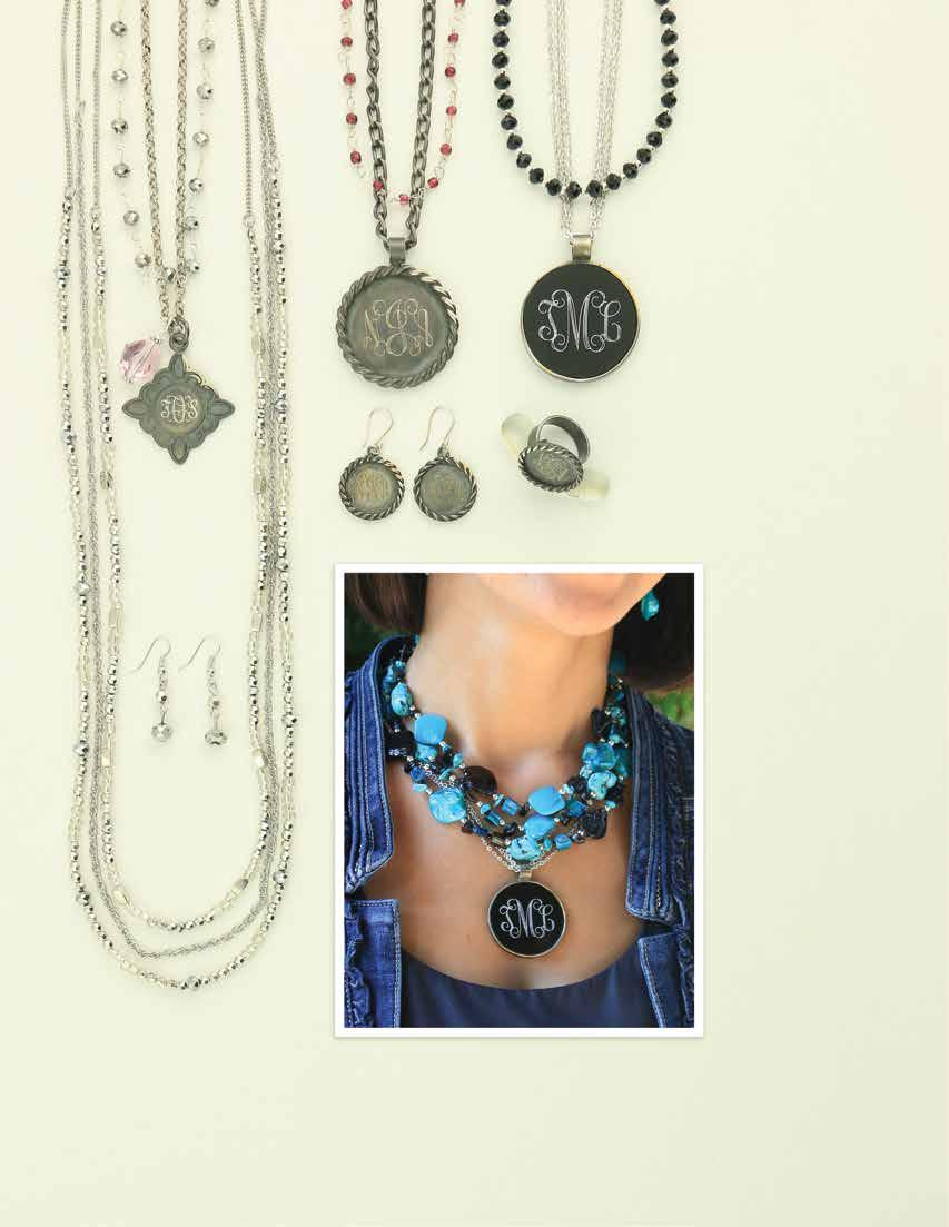 C. D. G. B. F. E. H. A. Comfortable Confident STYLE a. JS0168 $28 When Stars Fall Layering Necklace and Earring Set.