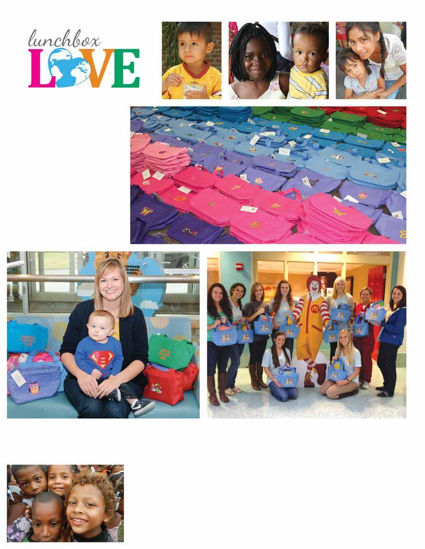 What is Lunchbox Love? Lunchbox Love was designed to help people in our local communities and children across the world.