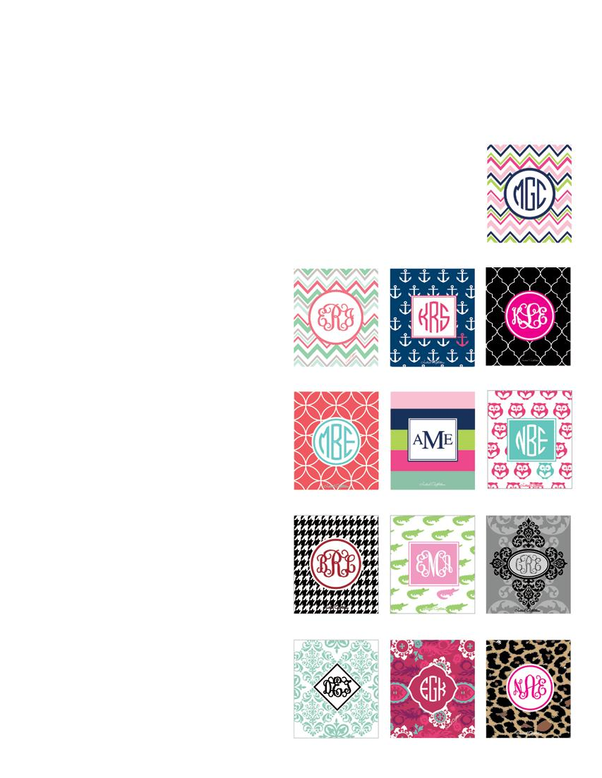 { Patterns } COLLECTION Step 1: Choose your design. Each design has a specific item number. ITEM NUMBER Ex.