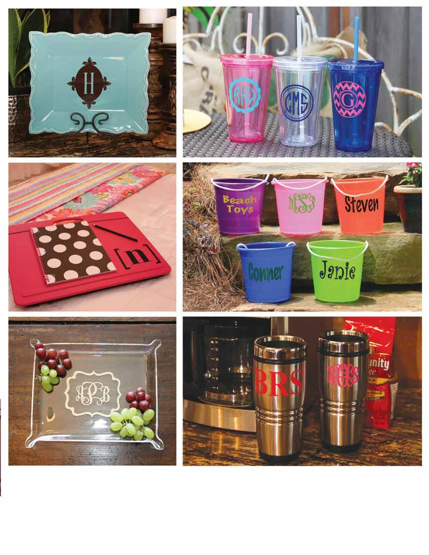 VN0019-0005 5 decorative decal A. VN0018-0005 5 decorative decal B. C. D. a. Insulated Tumblers GG0073-(SPECIFY COLOR) $22 V -0100 hot pink, -0200 clear, -0300 royal blue 16 oz. BPA Free b.