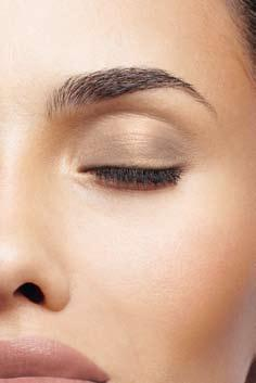 EyeS Step5 Eyeshadow Accents and defines the shape of the eye Eyes are the focal point of your face Choose a shade that complements your eye color: Brown eyes: purple, green, bronze