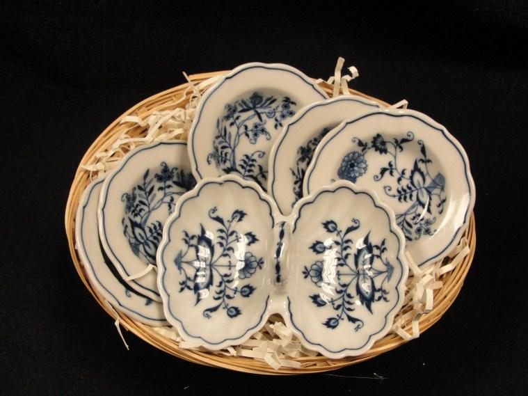 Value: $55 28 Blue Danube China Set