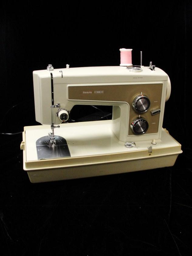36 Retro Sears Sewing Machine Model 6813.