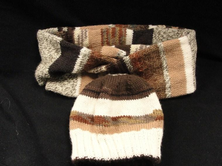 37 Brown Knit Hat & Scarf Value: $100 Value: $125 You'll be warm and fashionable with this