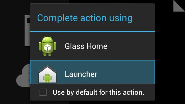 In Launcher you will see the classic Android home screen. Click the All Apps button.