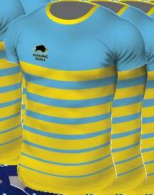 sports fit top can be produced to any design and colours.