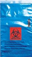 500/CS 21.57 lbs UF95-66SP CLEAR NON BIOHAZARD single pocket bag (2 Wall) Press and Close liquid-tight, secure sample closure. Printed with instructions for use.