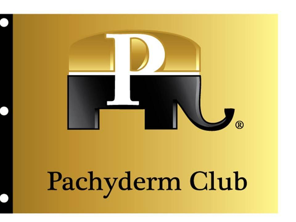 **NEW** Pachyderm Flag 3 x 5 Nylon All Weather Flag with brass Grommets A Must for any Club Meeting, Parade & Booth -Plus- Club Members can display their Pachy