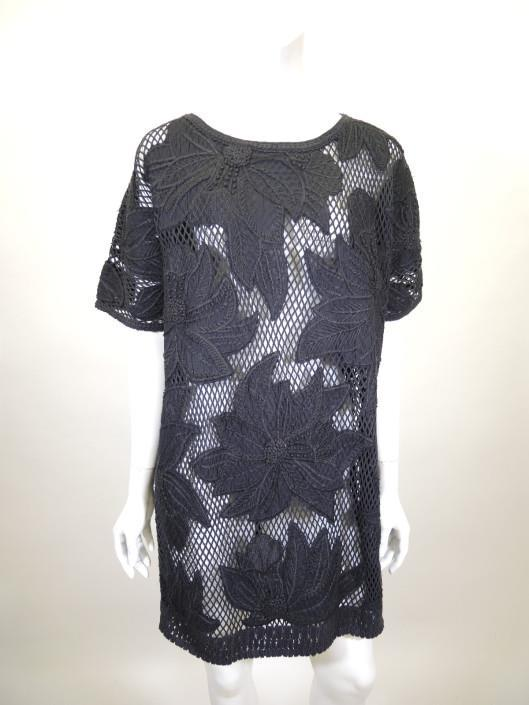 ISABEL MARANT Caty Floral Embroidered Dress Size L Sold in one day for $279. 03/11/17 Isabel s boho Parisian chic aesthetic is on full display in this loose knit floral embroidered shift.