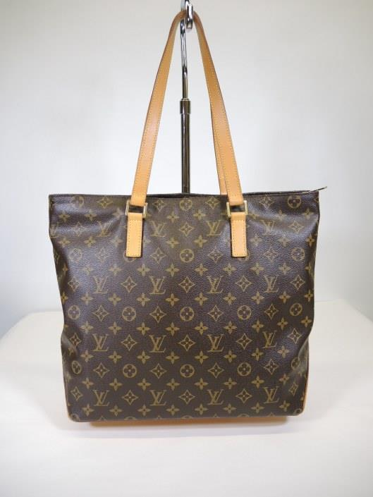 LOUIS VUITTON Cabas Mezzo Tote Retailed for $1440, sold in one day for $699.