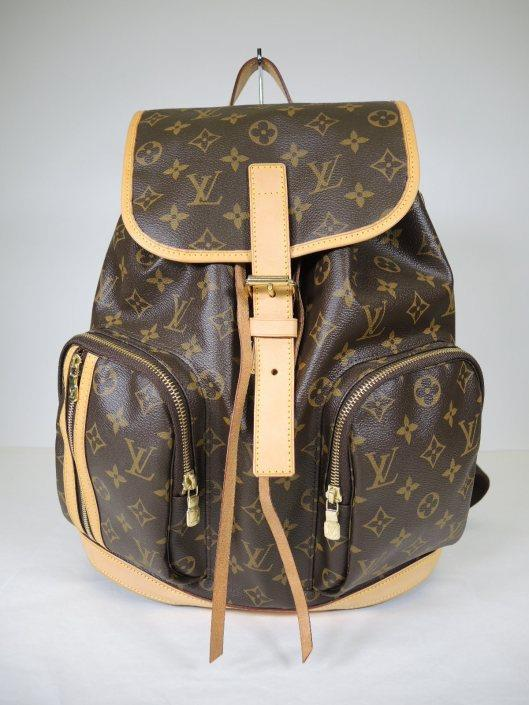 LOUIS VUITTON Bosphore Backpack Retailed for $2090, sold in one day for $1200.