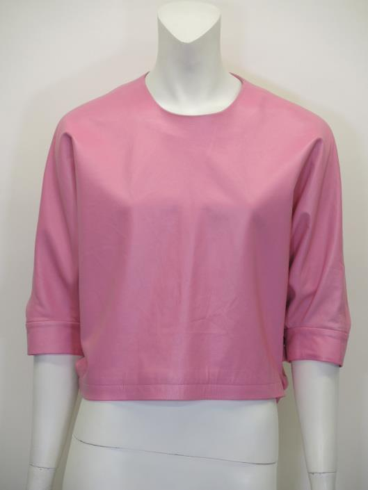 ALEXANDER WANG Pink Leather Top One Size Retailed for $599, sold in one day for $249.