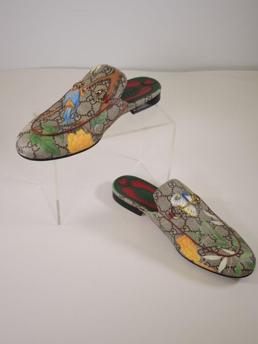 GUCCI Tian Princetown Slipper Size 8 ½ Retails for $750, sold in one day for $299. 05/06/17 Spring 2017, Gucci released the Princeton Slipper, and all of us who swear by flats rejoiced.