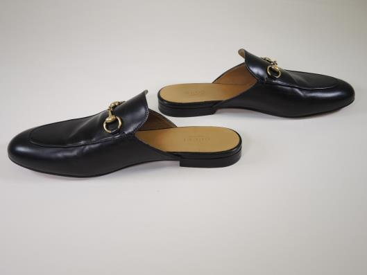 GUCCI Princetown Slipper Size 8 ½ Retails for $650, sold in one day for $229.