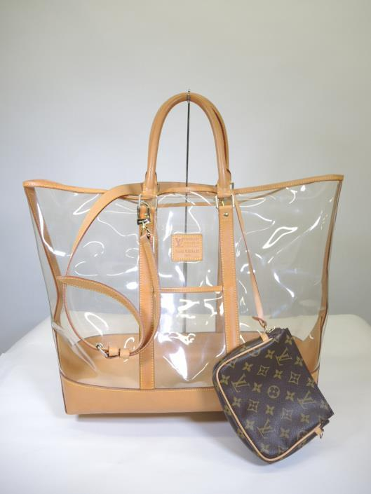LOUIS VUITTON by Isaac Mizrahi Sac Centenaire Beach Tote Sold in one day for $649.